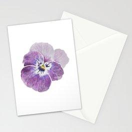 Light Pink Pansy Stationery Cards