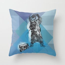 O&P: MC Grizzly Pt.2 - So Grizzly Right Now! Throw Pillow