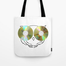 CD Owl Tote Bag