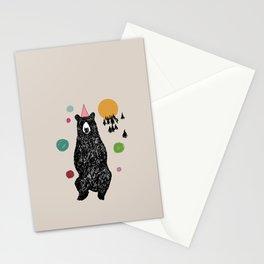 Bear Scape Stationery Cards