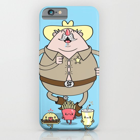 Sherif Fatman and Fast Food iPhone & iPod Case