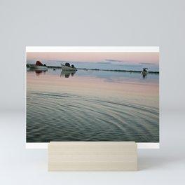 Salt Pond Sunrise 2 Mini Art Print