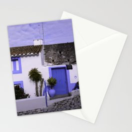 Home in Nazare Stationery Cards