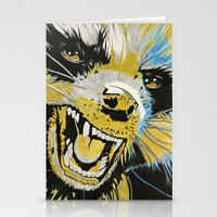 guardians of the galaxy Stationery Cards featuring Rocket, Guardians of The Galaxy by Goolpia