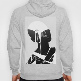 abstract portrait Hoody