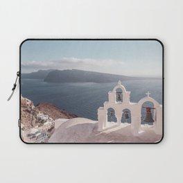 The Bells of Santorini Laptop Sleeve