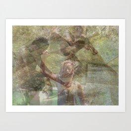 Warrior Spirit Art Print