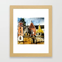 Wawel Framed Art Print