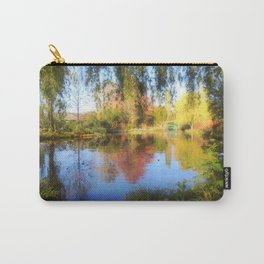 Dreamy Water Garden Carry-All Pouch