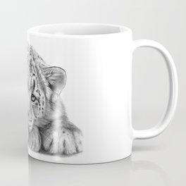 Snow Leopard Cub G105 Coffee Mug