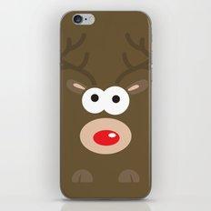 Minimal Reindeer  iPhone & iPod Skin