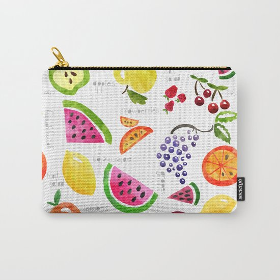 Fruit Salad Yummy Yummy Carry-All Pouch