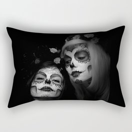 Sisters of Shadow Rectangular Pillow