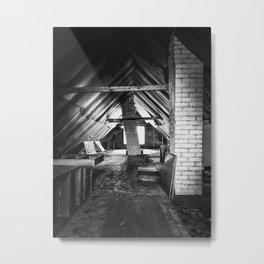 Chimneys of Pooley Place Metal Print
