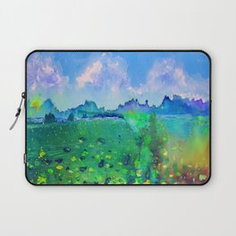 Lily pads with a Mountain View Laptop Sleeve