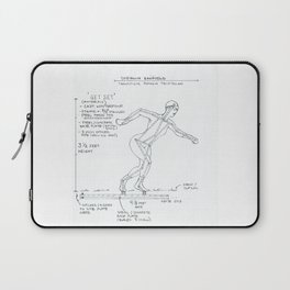 Get Set Drawing, Transitions through Triathlon Laptop Sleeve