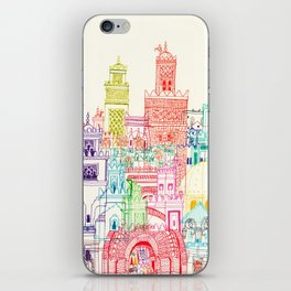 Marrakech Towers  iPhone Skin