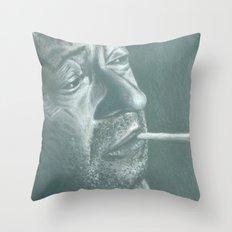 serge&gitane! Throw Pillow