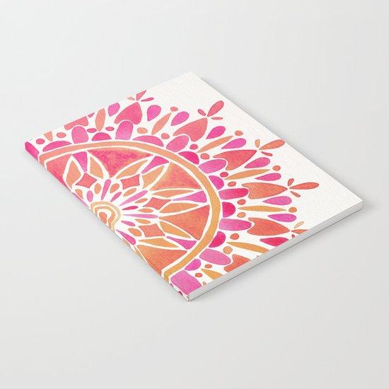 Mandala – Pink Ombré Notebook