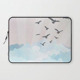 birds at the beach Laptop Sleeve