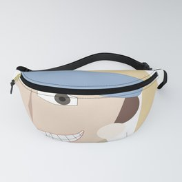 Smiling Girl with a Pearl Earring Fanny Pack