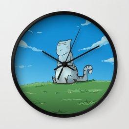 A Mile A Minute: Fat Cat Wall Clock