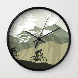Trail Club III Wall Clock