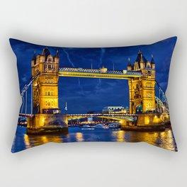 Tower Bridge , London, England, UK Rectangular Pillow