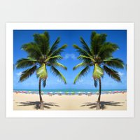 welcome Art Prints featuring Welcome by Robin Curtiss