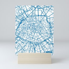 Paris Blue Mini Art Print