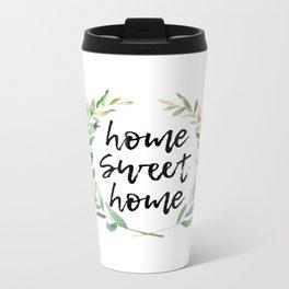 Home Sweet Home Metal Travel Mug