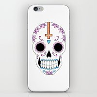 atheist iPhone & iPod Skins featuring ATHEIST by Alice Suttle