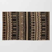 woodland Area & Throw Rugs featuring  WOODLAND by Vasare Nar
