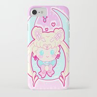 sailormoon iPhone & iPod Cases featuring Marshmallow Sailormoon by Candy Castle
