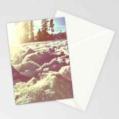 Ski Lodge Days Stationery Cards