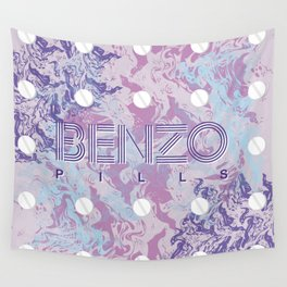 Benzo Pills Wall Tapestry