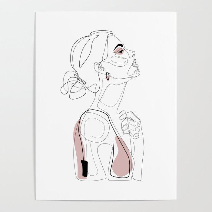 Blush Beauty Poster