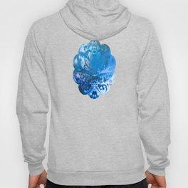 Meditating Entity (blue) Hoody