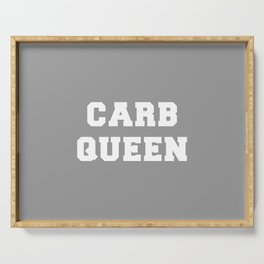 Carb Queen Serving Tray