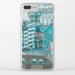 Zurich Views I Clear iPhone Case