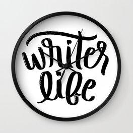 Writer Life Wall Clock