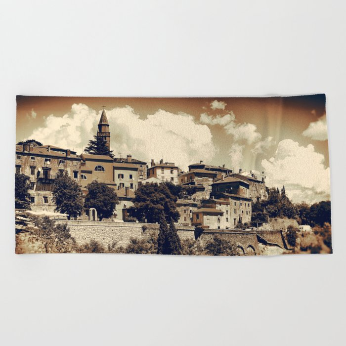 Old Town II Beach Towel