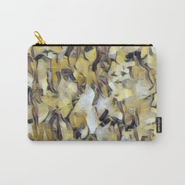 Confetti Gold Neutrals Carry-All Pouch