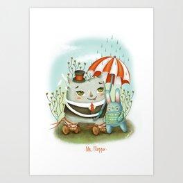 Mr. Floppo Art Print