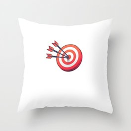 I'd Hit That Archer Archery Sports Lovers Hobby Players Throw Pillow