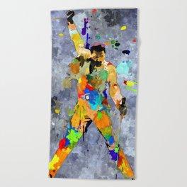 Freddie  Beach Towel