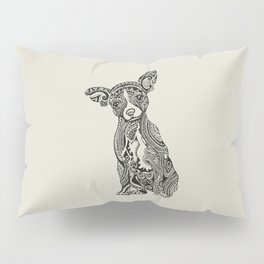 Polynesian Chihuahua Pillow Sham