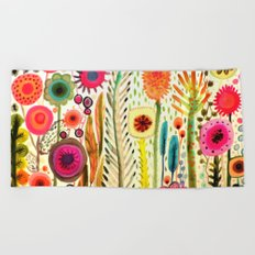 printemps Beach Towel
