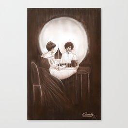 Necessity Canvas Print