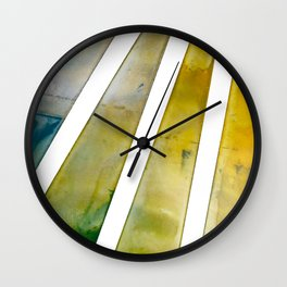 Sun Shower Wall Clock